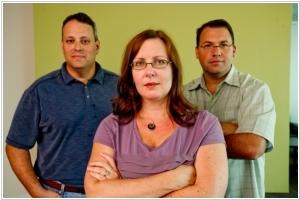 Founders: Rob Frohwein, Kathryn Petralia, Marc Gorlin